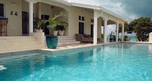 Splendida villa sulla spiaggia a St Martin Island