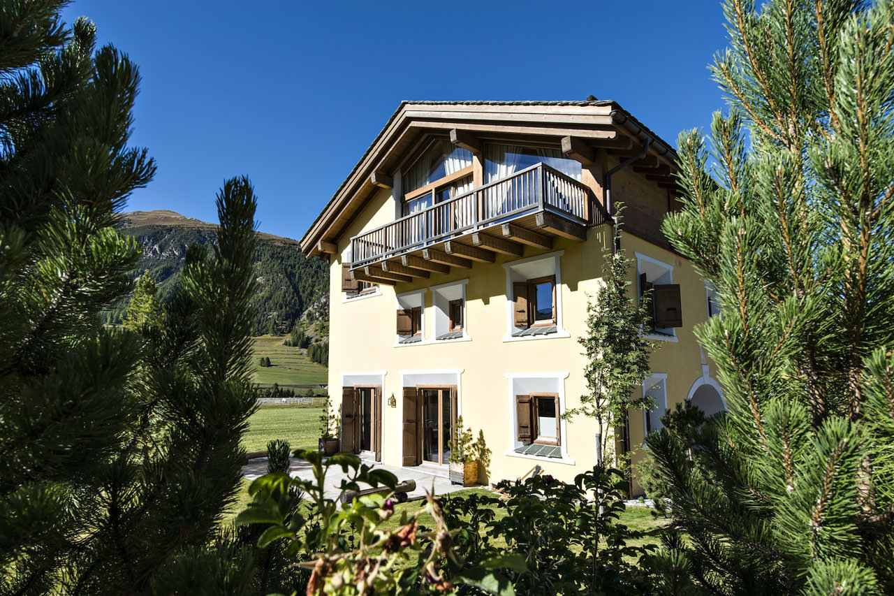 St Moritz Chalet